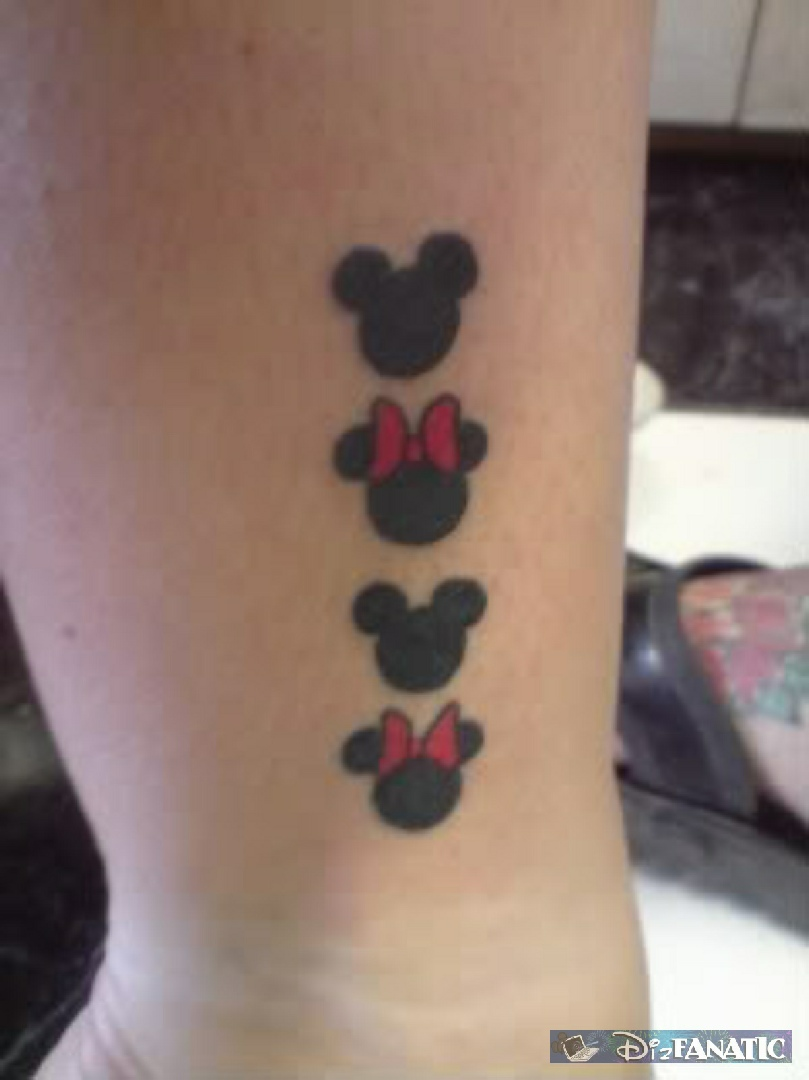 top hidden mickey tattoo designs images for pinterest tattoos. Black Bedroom Furniture Sets. Home Design Ideas