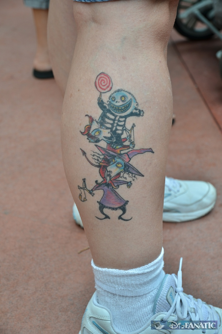 Mickey Ink °o° - Nightmare Before Christmas Tattoos!