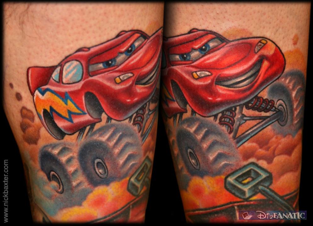 mickey ink o disney pixar cars tattoos