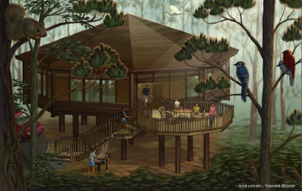 Disney Officially Announced Bay Lake Tower Amp Treehouse Villas